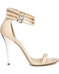 Asos Harrogate Heeled Sandals - Lyst