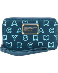 Marc Jacobs - Dreamy Logo Wingman Wallet - Lyst