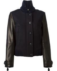 Burberry Brit Panelled Jacket - Lyst