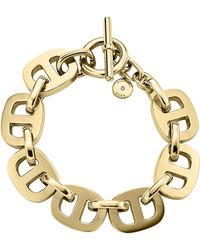 Michael Kors Maritime Golden Toggle Bracelet - Lyst