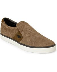 Creative Recreation Olive Vento Slip-On Sneakers - Lyst