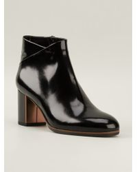 L'Autre Chose Mid Chunky Heels Ankle Boots - Lyst
