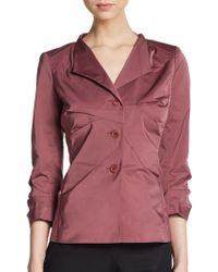 Lafayette 148 New York Shandy Fitted Jacket - Lyst
