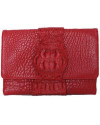 Victoria Horning Red Clutch - Lyst