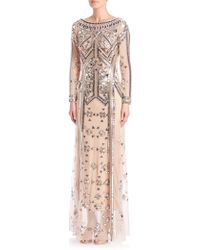 Temperley London | Carly Beaded Gown | Lyst