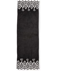 Valentino Cashmere Pliss Lace Shawl - Lyst