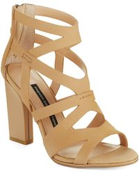 French Connection Isla Strappy Heels - Lyst