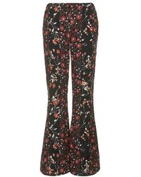 Topshop Mixed Print Flares By Band Of Gypsies - Lyst