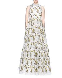 Erdem | Embroidered Dress | Lyst