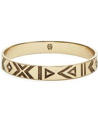 House Of Harlow 1960 1960 Symbols And Signs Bangle - Lyst