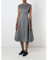 Lanvin - Voluminous Skirt Flared Dress - Lyst