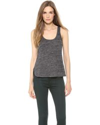 Rag & Bone Prema Tank Light Grey - Lyst