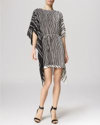 Halston Heritage Dress - Short Sleeve Caftan - Lyst