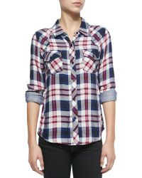 Rails Kendra Long-sleeve Plaid Shirt - Lyst