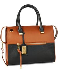 Badgley Mischka Gillian Satchel - Lyst