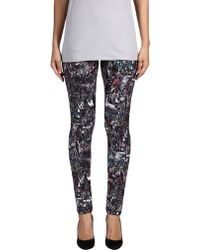 McQ by Alexander McQueen Leggings black - Lyst