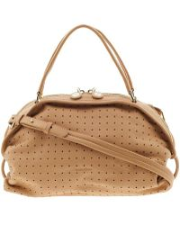 See By Chloé Perforated Bluebell Shoulder Bag - Lyst