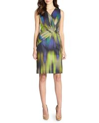 Lafayette 148 New York Laurel Ombre Dress - Lyst