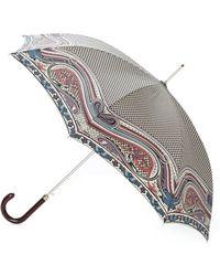 Etro - Paisley Print Umbrella - Lyst