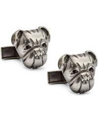 English Laundry - Bull Dog Cufflinks - Lyst