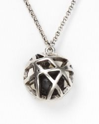 Low Luv by Erin Wasson - Cage Sphere Necklace - Lyst