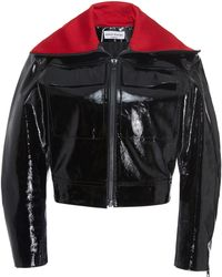 Sonia Rykiel - Patent Leather Jacket - Lyst