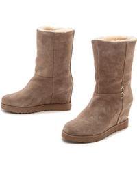 Koolaburra - La Cienega Wedge Boots - Seta - Lyst