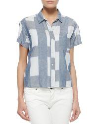 Current/Elliott The Emma Shirt - Lyst