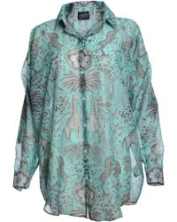 Emma J Shipley The Kruger Oversized Illustrated Shirt By - Lyst