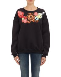 Christopher Kane Appliquéd Sweatshirt - Lyst