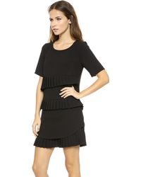 Timo Weiland Laura Day Dress  Black - Lyst