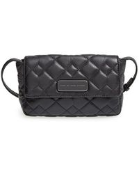 Marc By Marc Jacobs 'Crosby - Quilted Julie' Leather Crossbody Bag - Lyst