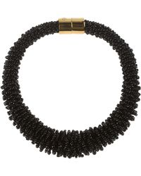 Emilio Pucci Necklace black - Lyst