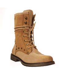 Roxy - Concord Combat Boot - Lyst