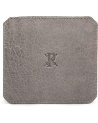 Parabellum | gray Grey Leather Cardholder | Lyst