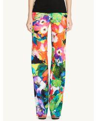 Ralph Lauren Black Label Floral Chaundra Pant - Lyst