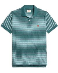 Brooks Brothers Stripe Polo Shirt - Lyst