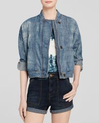 Free People Jacket - Tattered Tennis - Lyst