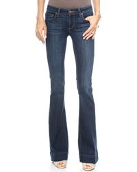 Paige Fiona Flare Jeans Verona - Lyst