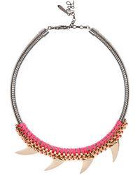 John & Pearl Denver Necklace - Lyst
