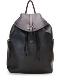 Alexander McQueen Stud-Skull Leather Backpack - Lyst