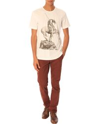 Paul Smith Never Assume' White Print Tshirt - Lyst