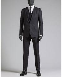 Dolce & Gabbana | Suit In Wool Cloth | Lyst