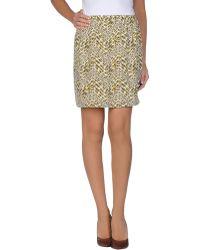 Peter Jensen Mini Skirt multicolor - Lyst