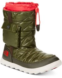 The North Face Shiny Thermoball Cold Weather Boots - Lyst