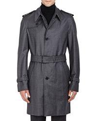 Aquascutum | Barney Trench Coat | Lyst