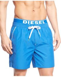 Diesel Bmbx Dolphin Swim Trunks - Lyst