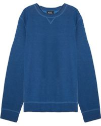A.P.C.   Dyed Sweater   Lyst