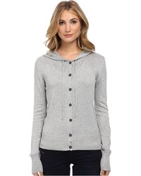 Vivienne Westwood Anglomania Classic Hooded Cardigan - Lyst