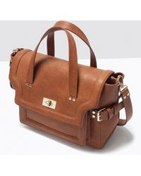 Zara City Messenger Bag - Lyst